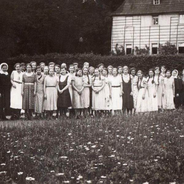 Ausflug der Schülerinnen Weimar Juni 1933