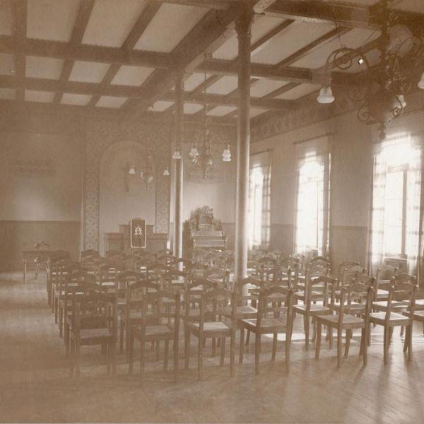 Betsaal 1914 oder früher